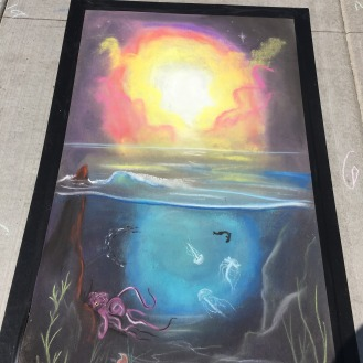 WorldOceansDay with Chicago Chalk Champs